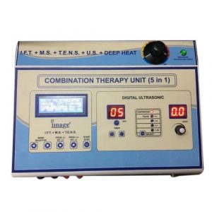 digital 5 in 1 physiotherapy machine